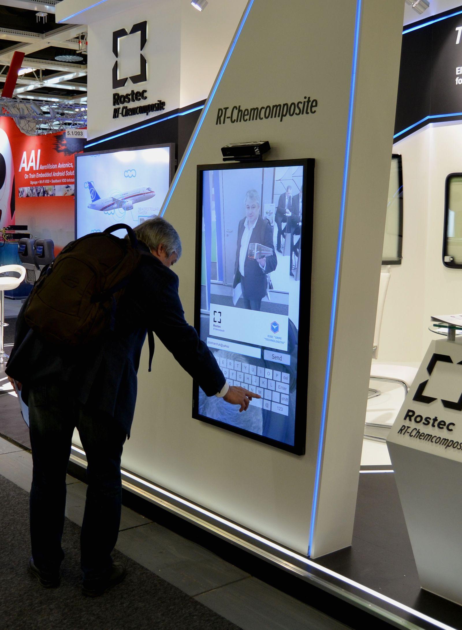 Холдинг «РТ-Химкомпозит» на Берлинской выставке технологий железнодорожного транспорта InnoTrans-2014.