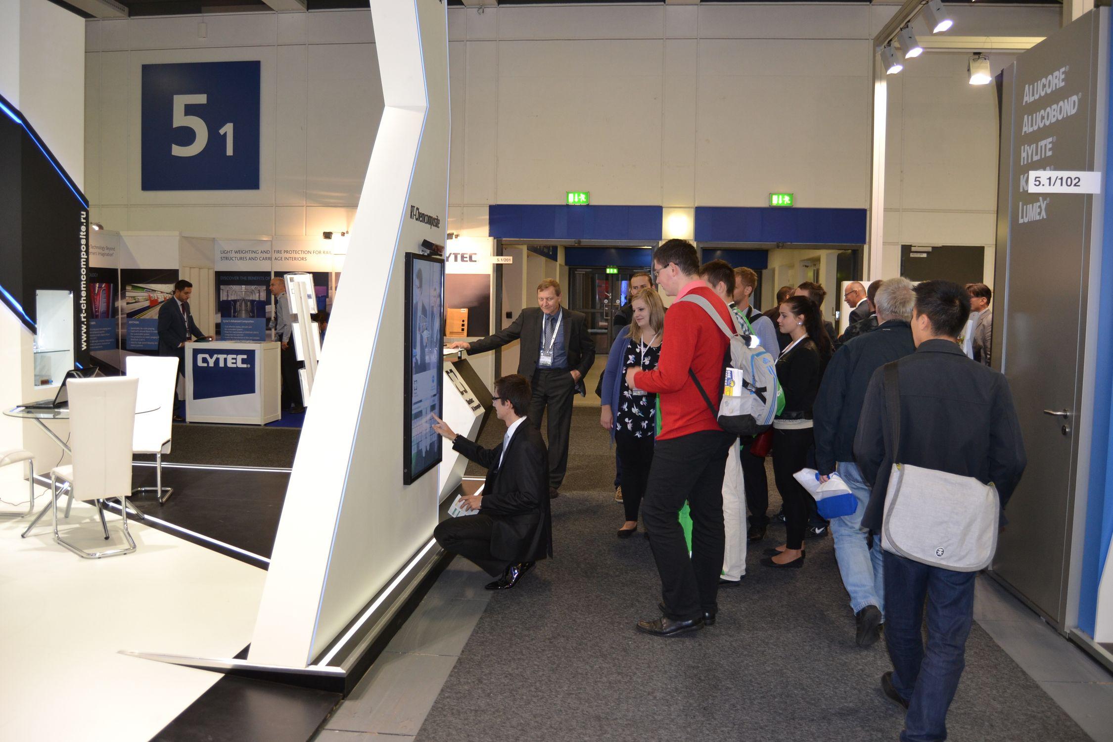 Холдинг «РТ-Химкомпозит»  на выставке InnoTrans - 2014.