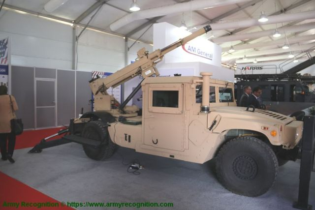 105 мм самоходная гаубица Humvee Hawkeye
