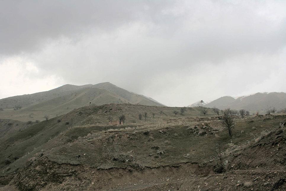 12-я застава Московского пограничного отряда Группы Пограничных войск России в Республике Таджикистан. 2012 год.