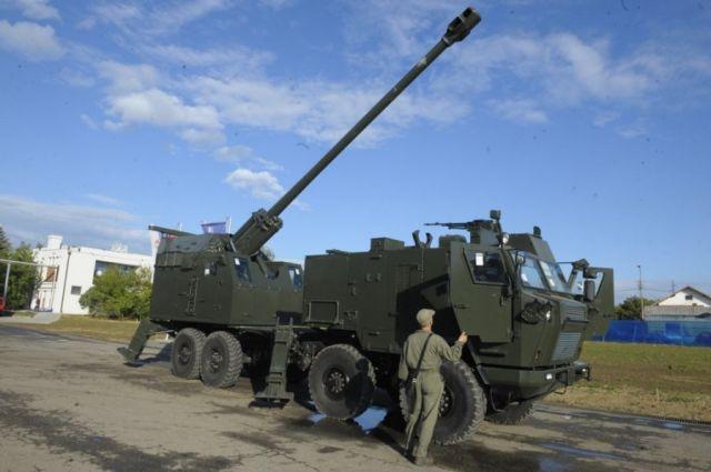 155-мм/52 самоходная гаубица Nora-B52 M15