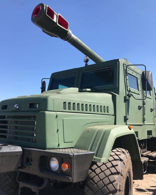 """155-мм самоходная гаубица """"Богдана"""""""