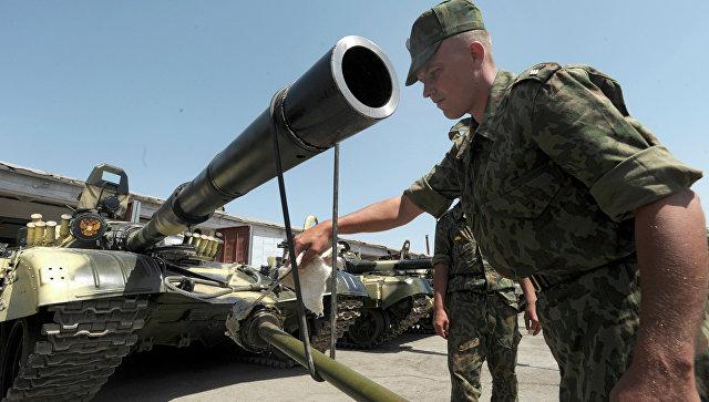 201-я военная база в Таджикистане. Архивное фото.