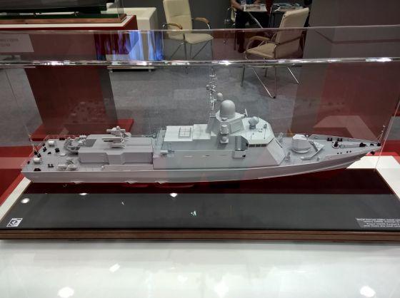 Модель корабля проекта 22800