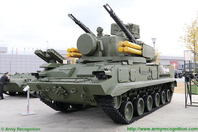 Модернизированный ЗРПК 2С6 «Тунгуска».