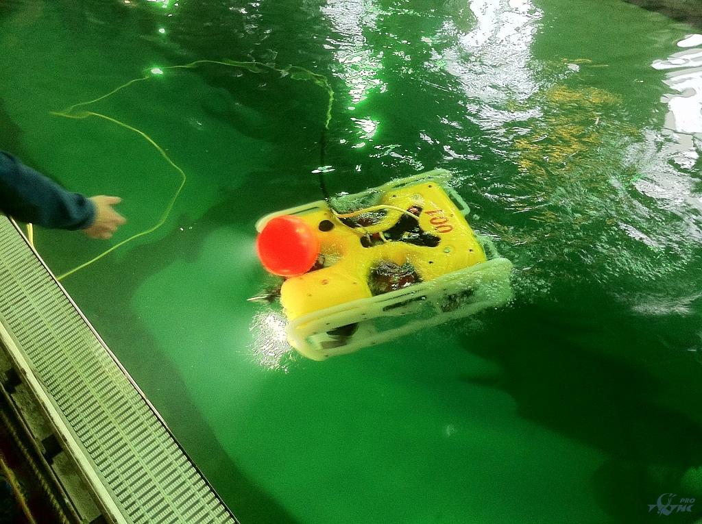 Государственных испытания телеуправляемого необитаемого подводного аппарата «Марлин-350».