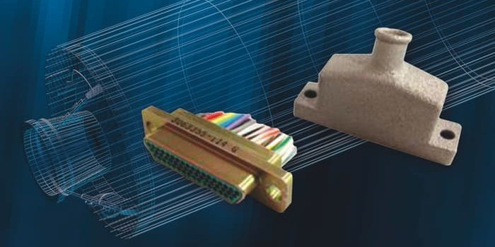 «Коннекторный кожух», напечатанный на 3D принтере для баллистической ракеты ВМС США «Трайдент» II D5.