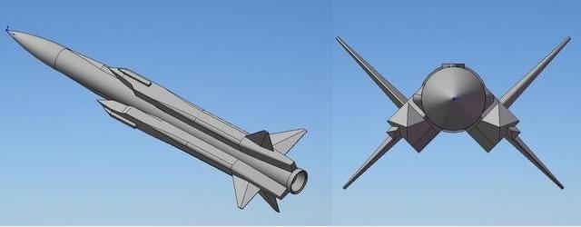 3D-концепт японской ПКР XASM-3.
