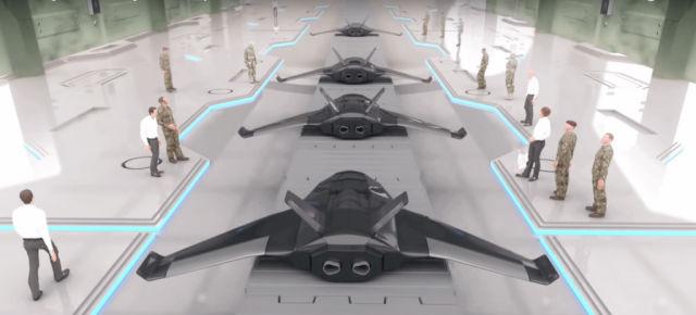 Прототипы беспилотников.