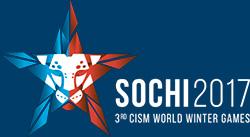 Логотип III зимних Всемирных военных игр