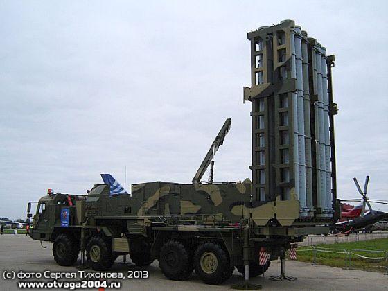 """Самоходная пусковая установка 50П6Е ЗРС С-350Е """"Витязь"""""""