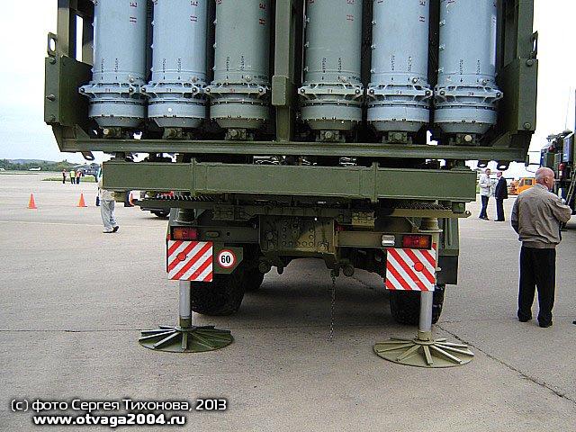 """Фото: Самоходная пусковая установка 50П6Е ЗРС С-350Е """"Витязь""""."""