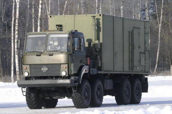Пункт боевого управления 55К6М комплекса С-400