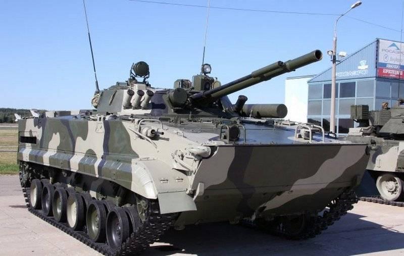 Бронемашина БМП-3.