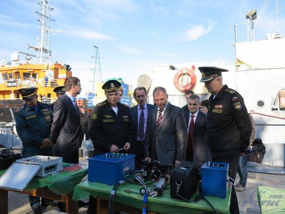 Новые образцы водолазного снаряжения и оборудования ОАО «Тетис Про»