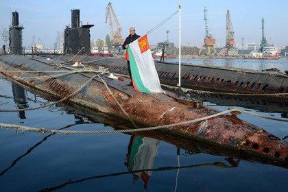 Подлодки проекта 633.1 из состава ВМС Болгарии.