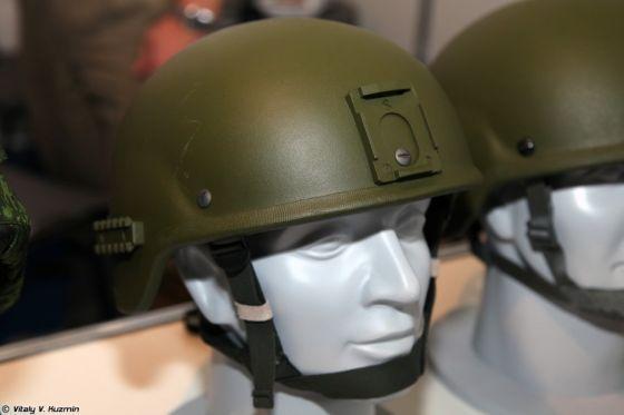 Шлем 6Б47 с креплениями для приборов