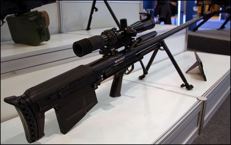 12,7-мм снайперская винтовка 6В7М (ОКР «Ратник-Корд-М»).