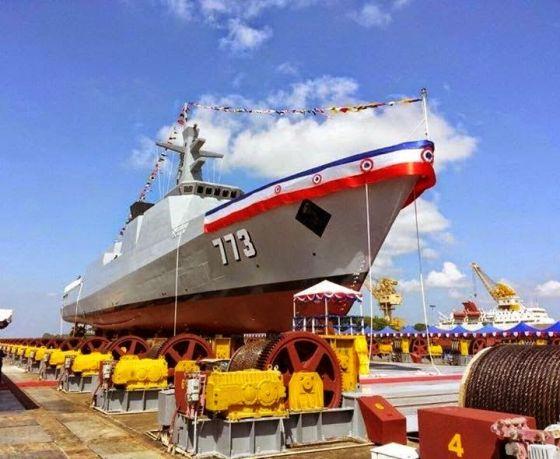 Фрегат 773 UMS Tabinshwehti
