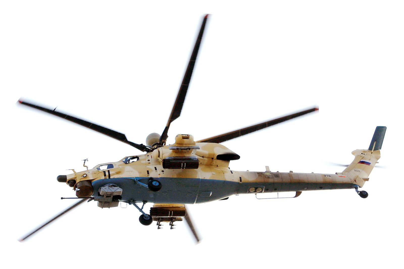 Россия завершит поставку вертолетов Ми-26Т2 для Алжира в 2017 г. - источник