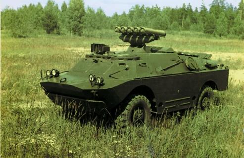Боевая машина 9П148 с ПТРК «Конкурс»