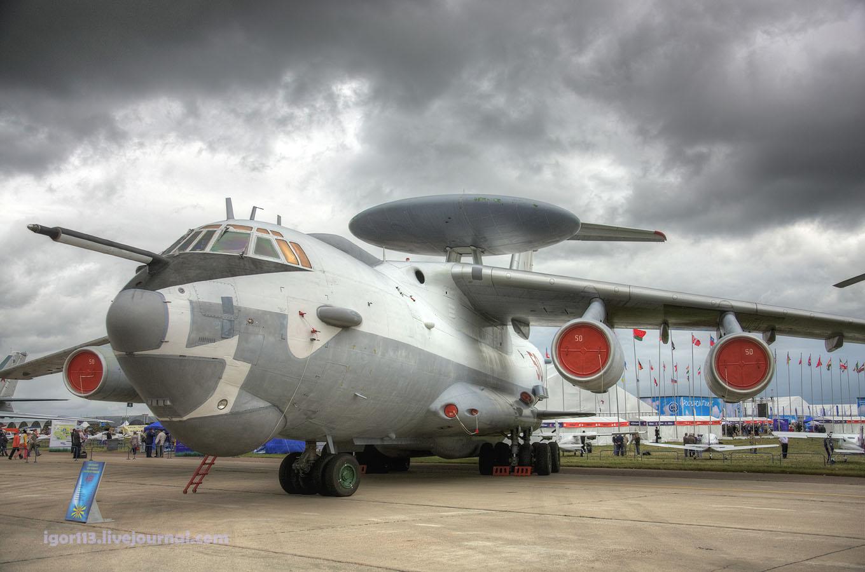 Самолет А-50 на выставке МАКС-2009. Источник: igor113.livejournal.com