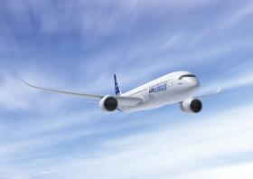"A350 XWB компании ""Эрбас""."