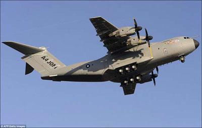 Четырёхмоторный турбовинтовой военный транспортный самолёт