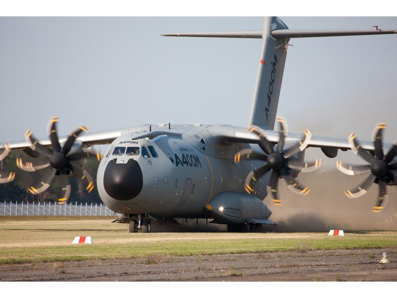 Военно-транспортный самолет А400М. Источник: www.mod.uk.