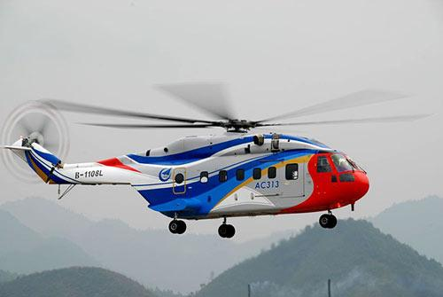 Тяжелый вертолет АС313.