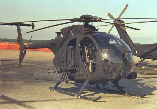 Вертолет AH-6 Little Bird. Источник: acig.org.