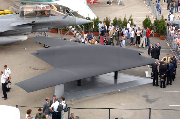 Разрабатываемый европейский боевой БЛА nEUROn.