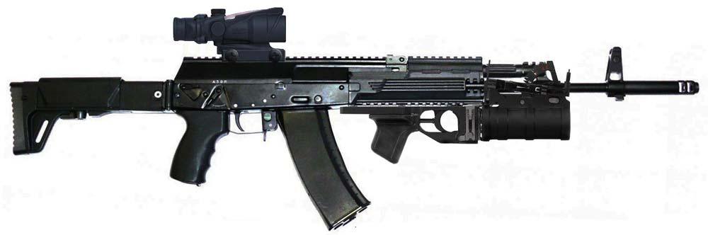 Автомат АК-12. Источник: www.dogswar.ru
