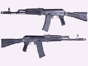АК-74М. Фото с сайта belostokskaya.ru.