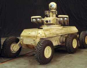 Боевая легкая роботизированная машина (ARV-A(L)).