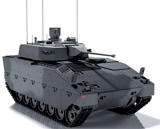 Британская машина Scout SV (специализированная машина).