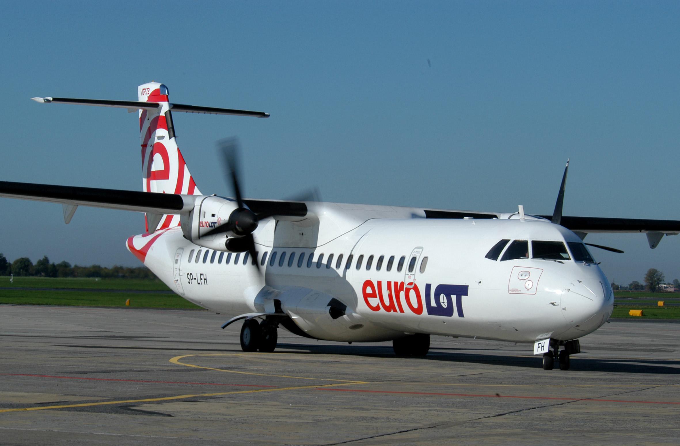 Ближнемагистральный турбовиновой самолет ATR 72. Фото: tutavia.ru.