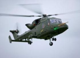 Многоцелевой боевой вертолет AW159 Wildcat разработки AgustaWestland.