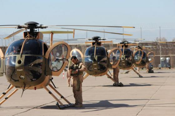 Afghan-Air-Force-MD-530F-helicopter