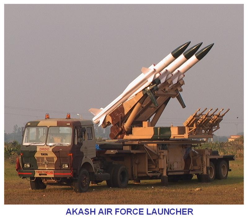 Индийский ЗРК Akash. Источник: www.bharat-rakshak.com.