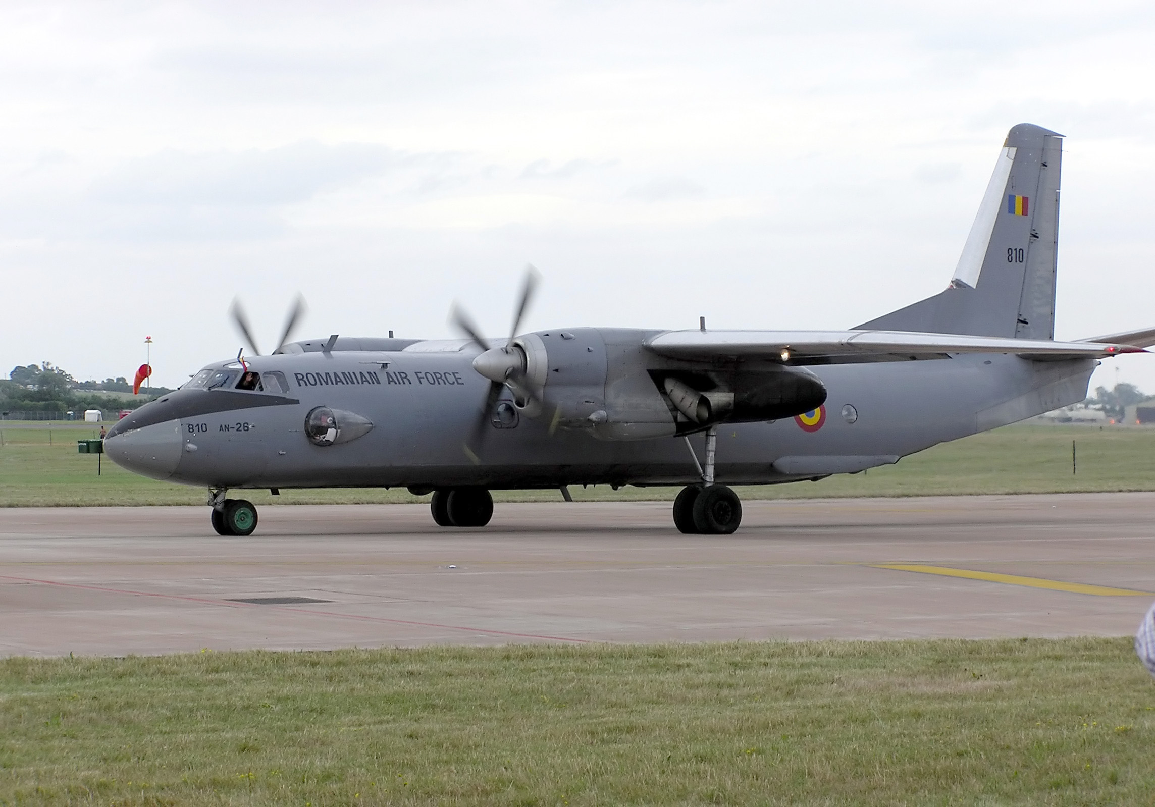 Самолет Ан-26. Фото: www.testpilots.ru