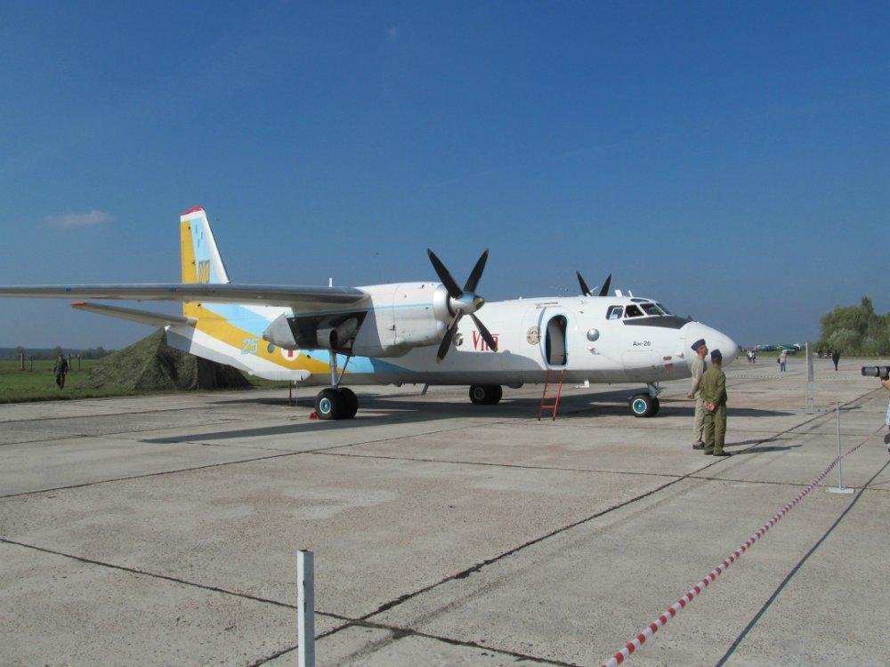Санитарный Ан-26 ВВС Украины. Источник: flackelf.livejournal.com.