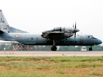 Ан-32 ВВС Индии. Фото пользователя Sushank Gupta с сайта airliners.net