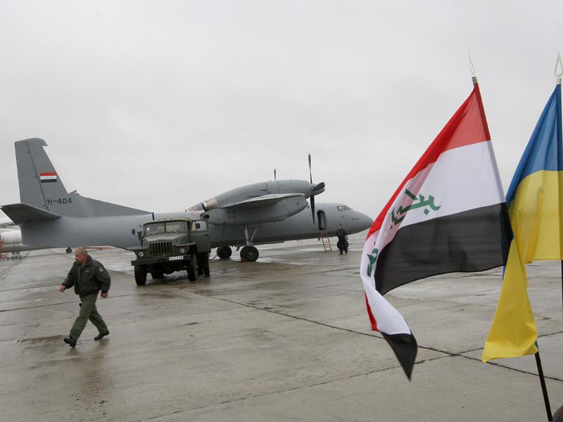 Ан-32 ВВС Ирака. Источник: www.golos.com.ua.