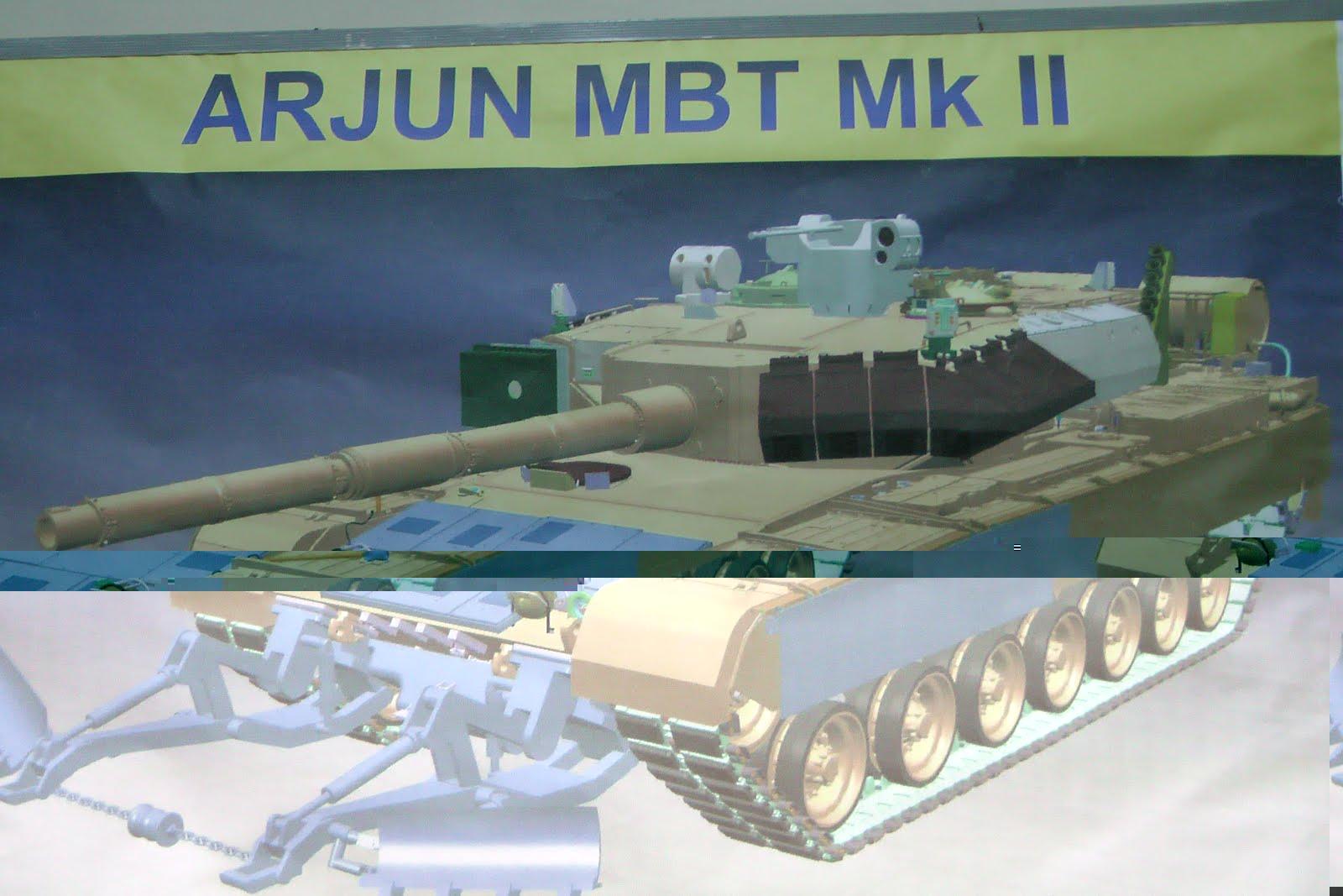Индийский танк Arjun Mk II. Источник: www.bharat-rakshak.com.