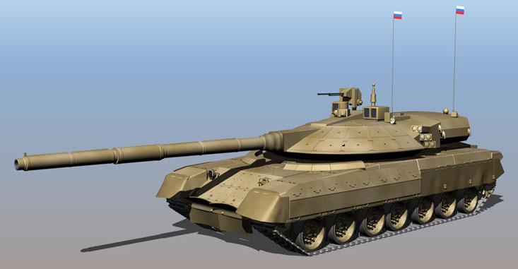 Одна из возможных компоновок танка