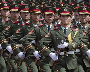 Китайская армия укрепит