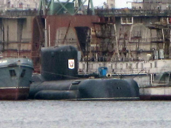 "ДЭПЛ Б-90 ""Саров"". Фото с сайта military.tomsk.ru."