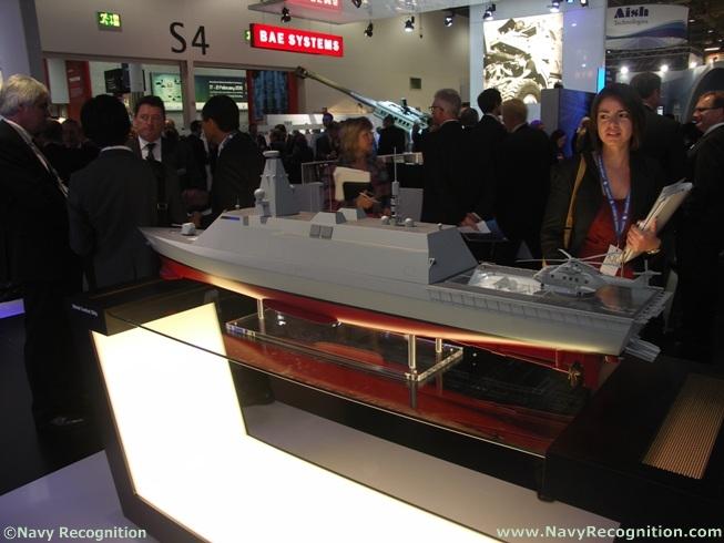 Дизайн проекта фрегата Type 26, разрабатываемого рамках программы Global Combat Ship (GCS). DSEi 2011 год. Источник: www.navyrecognition.com.