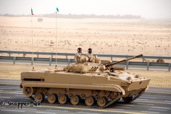 БМП-3 армии Кувейта.